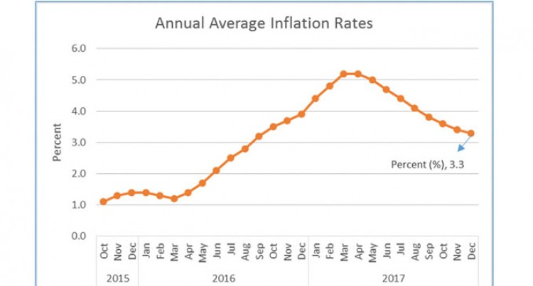 Marginal Changes in December Inflation Numbers