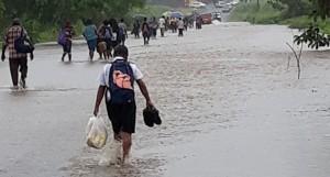 Flooding in Rakiraki.