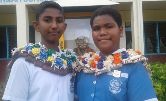 Being leaders in school not new for Krishal and Ulita