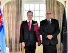 President Receives NZ, Belgium Envoys