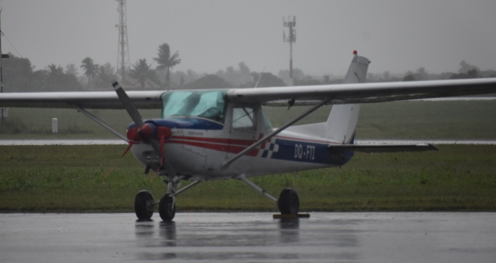 A similar Cessna aircraft at the hangar of the Pacific Flying School on February 26, 2018. Photo: Waisea Nasokia