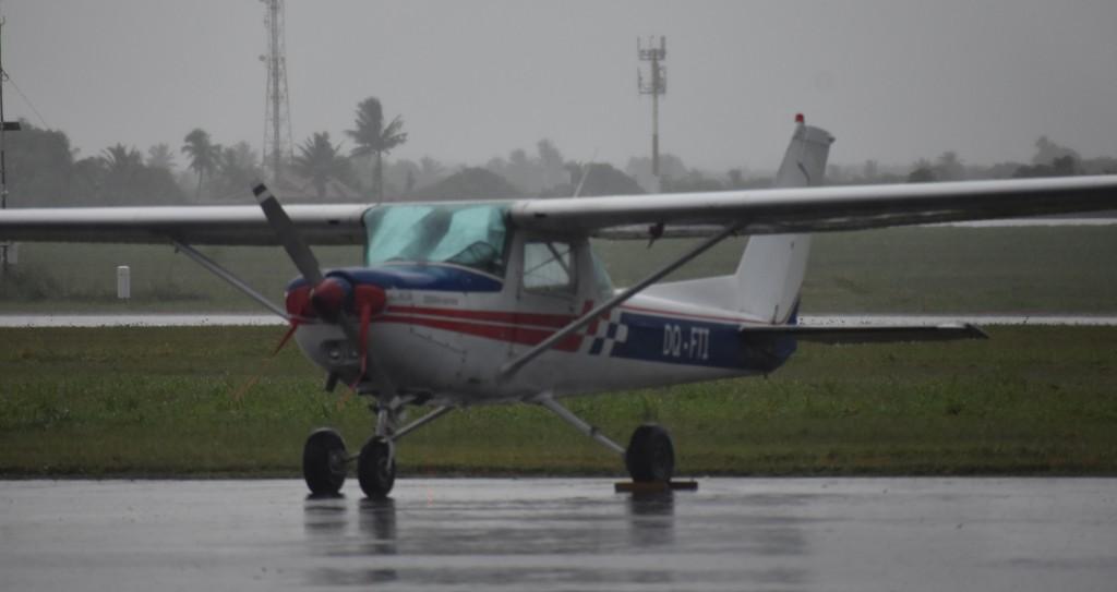 A similar Cessna aircraft at the hangar of the Pacific Flying School on February 26, 2018. Photo: Waisea Nasokia