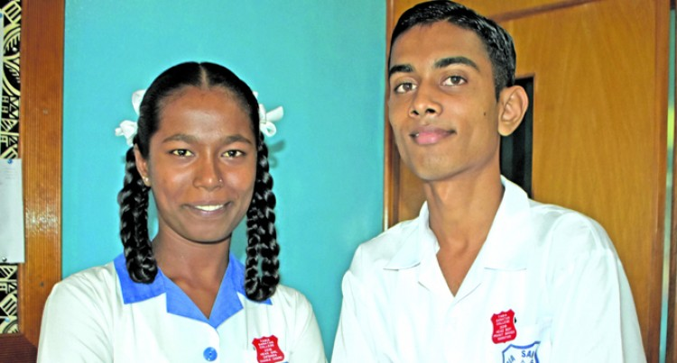 Prasit and Dipshika set big ambitions for the school year
