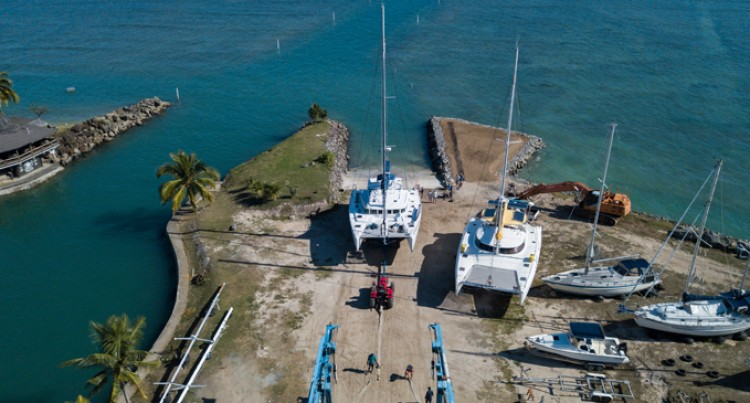$150k Catamaran Ramp Upgrades Vuda Marina