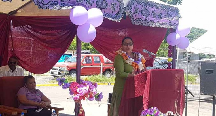 International Women's Day Kumar salutes Tavua market vendors