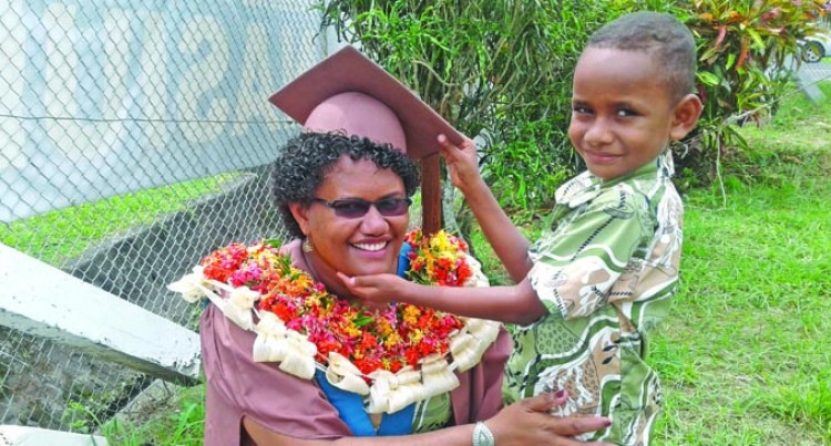 Auditor Adds Masters  To Her Cap