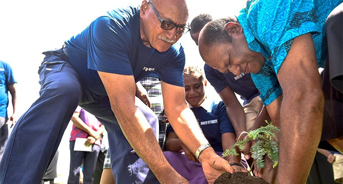 President leads celebration of forests