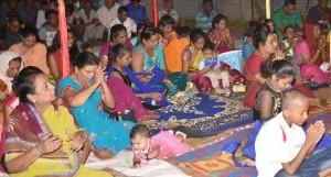 Members of the Waituri community in Nausori during the Ram Navami celebration on March 21, 2018. Photo: DEPTFO