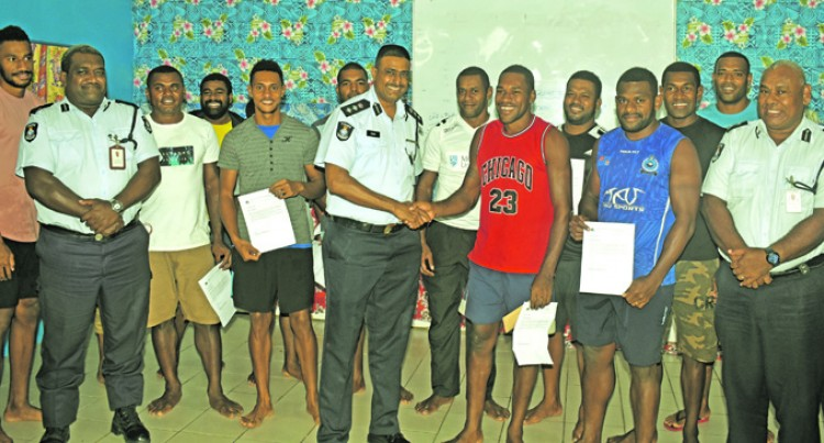 Taveuni 7's Team Assist Police