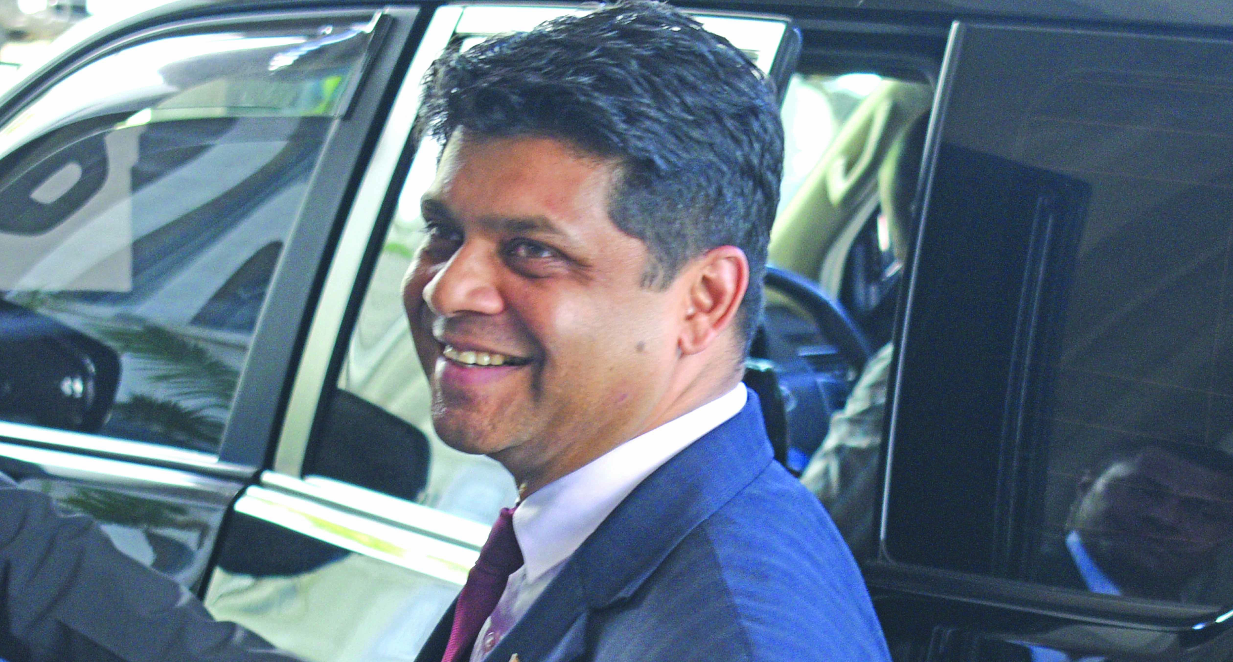FijiFirst general secretary and Attorney-General Aiyaz Sayed-Khaiyum.