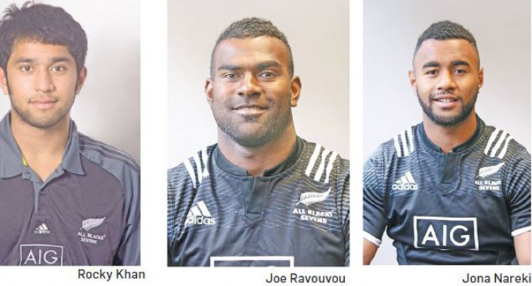 6 Fijians, Randle For Hong Kong 7s