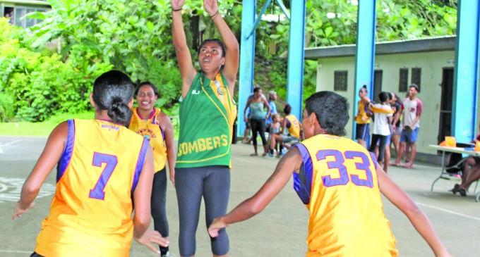 Inter-Lane Basketball In Raiwaqa