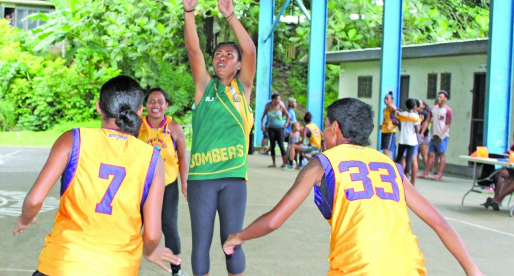 Inter-Lane Basketball In Raiwaqa