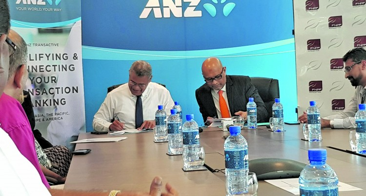 FNPF, ANZ Partner to Continue Push Towards 'Cashless Society'