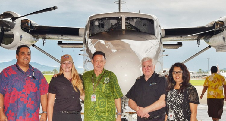 Fiji Link Welcomes Third Brand New Twin Otter Aircraft