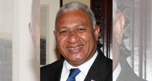 Prime Minister and FijiFirst party leader Voreqe Bainimarama.