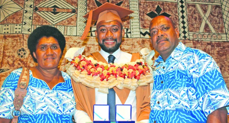 Double Gold for Naitasiri Graduate