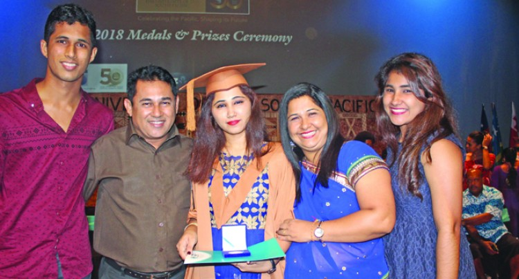 Gujarat student finds her way to top USP award