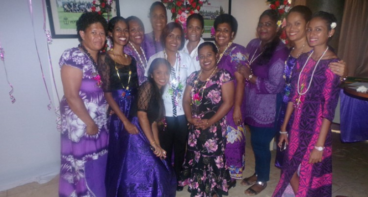 Tanoa acknowledge women staff