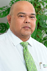 Newly appointed Bank South Pacific Country head - Fiji, Haroon Ali