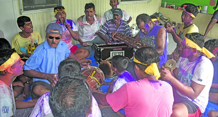 Youths Brighten Up Sigatoka Town With Holi Colours