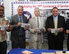 POST FIJI Present Commemorative Stamps To Honour United States Peace Corps
