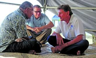 Flying School Owner Leads Delegation In Presentation Of Reguregu Ceremony To Merelesita Lutu's Family