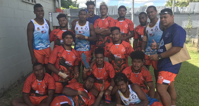 Tuvalu Gear For Marist 7s