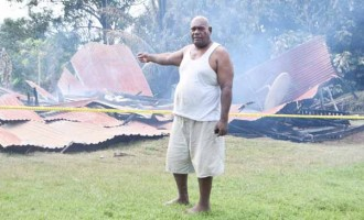Macuata  Villager Escapes  Early Morning House Fire