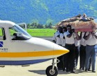 Flying Instructor Gets Fitting Farewell