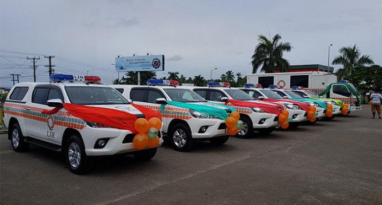 New vehicles for enforcement operations