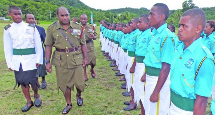 Lomary First To Hold Passing-Out Parade This Year