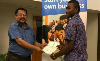 Young entrepreneur gets help to kick start business