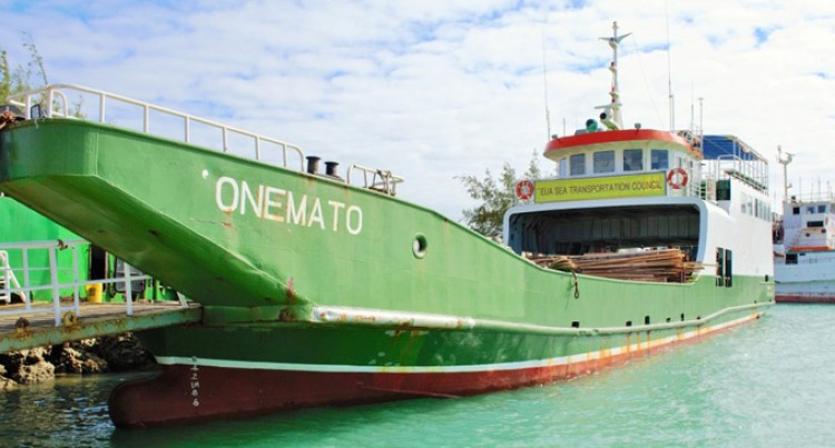 MV Onemato Returns to Tonga After Routine Servicing