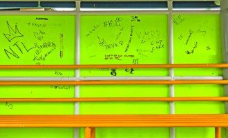 Bus Stop Graffiti A Concern