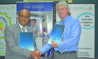 FNU, Employment Ministry Partner To Enhance Research