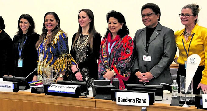 Vuniwaqa Tells Of Resilience Of Pacific Rural Women To Climate Change