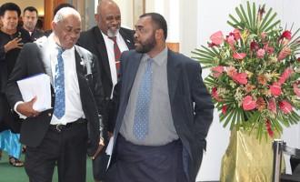 Speaker Luveni Terminates Question By  MP Nawaikula