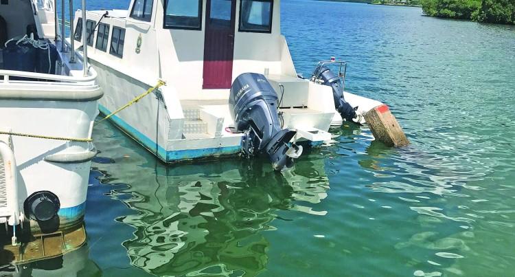 Water Police Yavahuna Brings in Biggest Kadavu Drug Haul