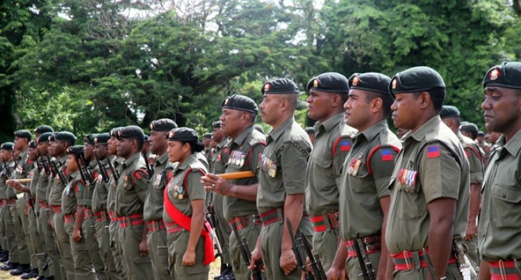 Republic Of Fiji Military Forces Recruit Only Available Internally