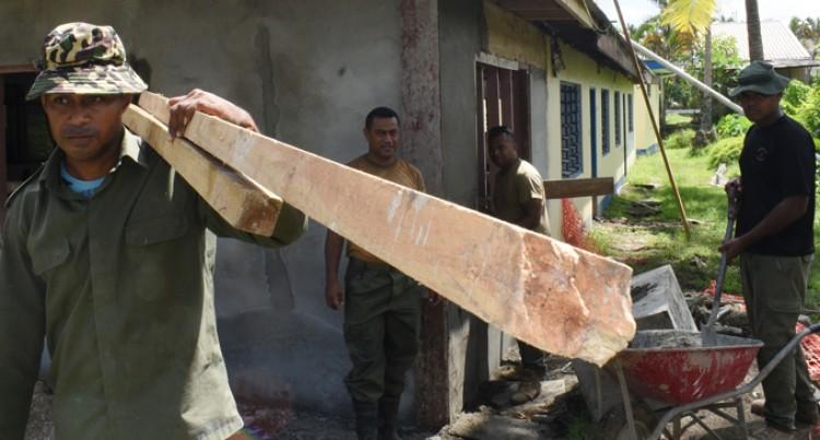 RFMF New Engineers Project in Vanua Levu