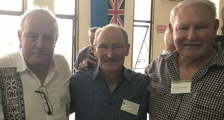 Retired Royal New Zealand Air Force (RNZAF) pilot tells of rescuing the crew of the 'Tuaikaepau'