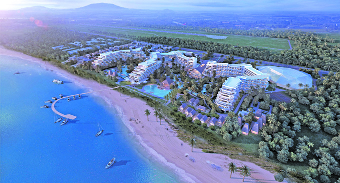 Artist's imression of the Wailoaloa, Nadi projects being marketed by Bayleys Real Estate