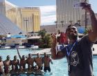 Cooling Off In  Las Vegas