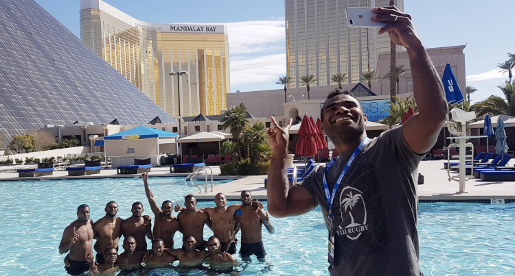 Cooling Off In  Las Vegas