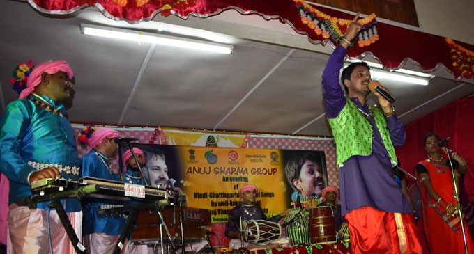 Singers From Chhattisgarh In India Entertain Seaqaqa Community