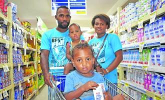 Shopping Trip a Family Treat For Farmer