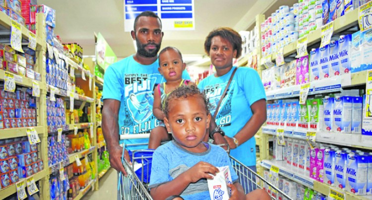 Shopping Trip a Family Treat For Farmer