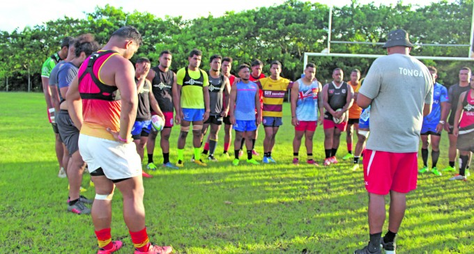 Seniors To Lead Tongans From Upfront