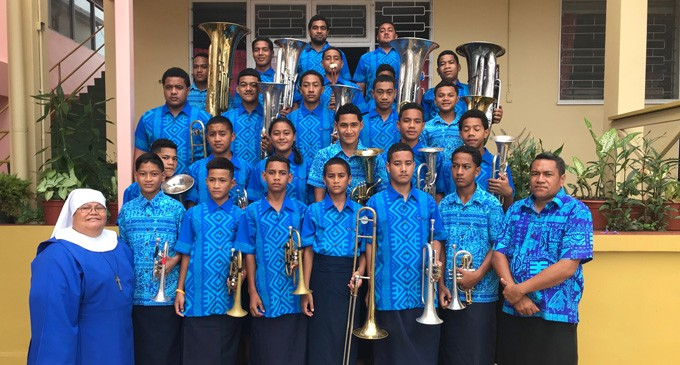 Tongan Students Add Colour To Anglican FONO